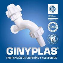Canilla Pvc Ginyplast 1/2 Precio Único.