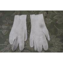 Antiguos Guantes Crochet -beige Osc-cremita-beige 7 1/2 S/u