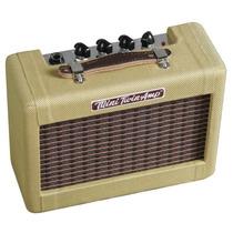 Fender Amp Guitarra, Portatil 9v, Mini57 Twin-amp, 2x2 Tweed