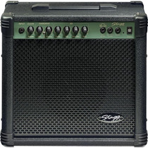 Amplificador De Guitarra Stagg 20w C/distorsión Y Mp3 In