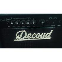 Amplificador Decoud Rs 26 Para Guitarra Electrica