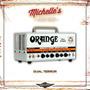 Cabezal Orange Dual Terror 100% Valvular!