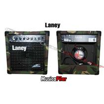 Amplificador Laney Camuflado Lx12 12w Guitarra Musicapilar