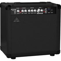Behringer Gtx30 Amplificador Combo Guitarra 30w