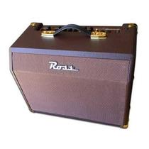 Amplificador Ross A25c Deluxe Guit Acustica Teclado Voz 25w