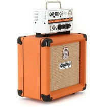 Cabezal Y Caja Orange Micro Terror Pre Valvular 20w Stock!