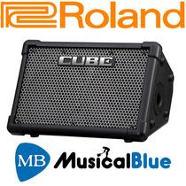 Amplificador Estéreo Operado Por Bater Roland Cube Street Ex