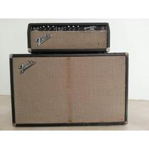 Fender Bassman Cabezal Y Caja Vintage