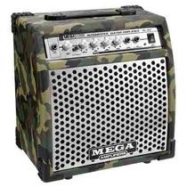 Amplificador Guitarra 20w Mega Distorsión Camuflado Militar