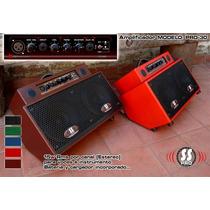 Amplificador Portátil Recargable 2 Entradas 30w