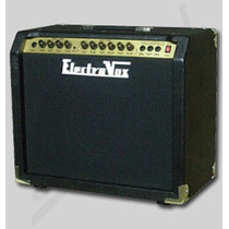 Amplificador Guitarra Valvetech 60w Electrovox Reverb Decoud