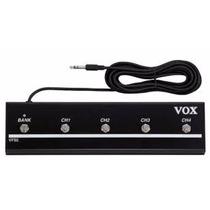 Vox Vfs5 Pedal Footswtich Para Toda La Linea Vt Valvetronix