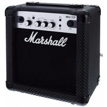 Amplificador Para Guitarra 10w Marshall Mg10 Cf Distorsion