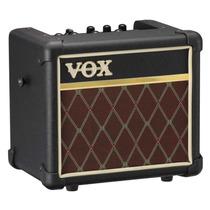 Amplificador Portátil Vox Mini3, 3 Watts,efectos, Clasico