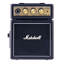Amplificador Marshall Ms2 2w Portatil Distorsion