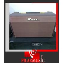 Amplificador Guitarra Ross Acoustic 25c-pilar Music Champagn