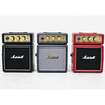 Mini Amplificador Portatil Marshall Ms-2- Colores!