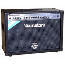 Amplificador De Guitarra Wenstone Ge1600 Twin 160w Eminence