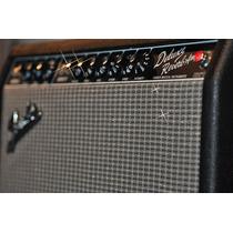 Ampli Valvular Fender Deluxe Reverb 22 Blackface Made In Usa