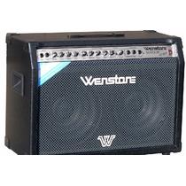 Amplificador De Guitarra Wenstone Ge1200 Twin 120w Rms 2x12