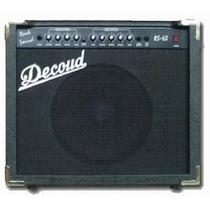 Ampli De Guitarra Con Distorsión Decoud 60 Watts 12 Pulgadas