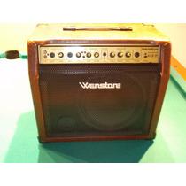 Amplificador Para Guitarra Acustica Wenstone A-ge25-permutas