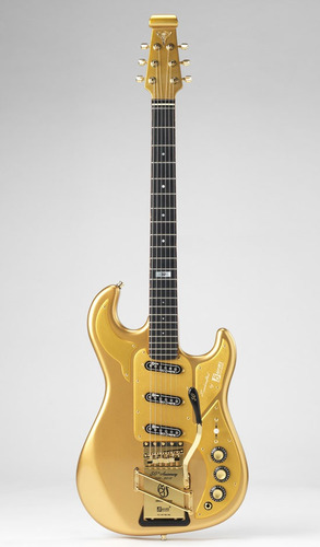 Guitarra Burns Gold Dream Solo 50 Hechas