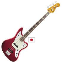Fender Bajo Jaguar Bass Deluxe Rwn Activo Candy Apple Red