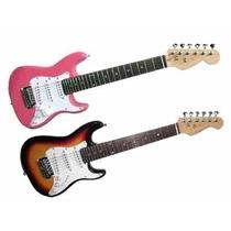 Guitarra Electrica Parker Stratocaster Mini Niño 3 Mics