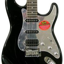 Squier Stratocaster Black & Chrome Fat Hss Super Oferta!!!