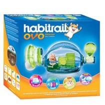 Jaula Habitrail Ovo Blue Para Hamsters + Comida + Viruta