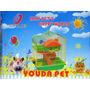 Hamstera Doctor Pet - Youda Pet - Dos Pisos Con Tobogán!