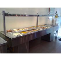 Exhibidor De Comida, Lunchonettes Para Platos Calientes