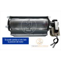 Motor Forzador Turbina Tangencial 24cm P/heladera Exhibidora