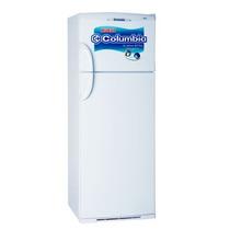 Heladera Columbia Con Freezer Blanca Htf2434 414 Lts