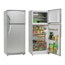 Heladera Gafa Hgf-356a C/ Freezer Platinum Gris 284l Clase A