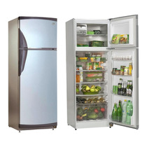 Heladera Gafa Hgf-367a Con Freezer Platinum 335 Lts Clase A