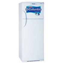 Heladera Con Freezer Columbia Htf 2334 Hitech Blanca 317 Lts