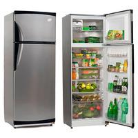 Heladera Gafa Hgf-367a Con Freezer Grafito 335 Lts Clase A