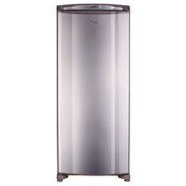Freezer Whirpool Wvu27d1 Inoxidable. Vertical. Cycle 260 Lts