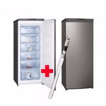 Freezer Vertical Vondom Fr140 Inox 164lts Reversible+regalo!