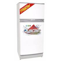 Heladera Con Freezer Lacar 2110mg Capacidad 220 Lts, Blanco