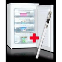 Freezer Vertical Vondom Fr55 Blanco Mesada 85lts+regalo!!!!