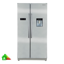 Heladera Peabody Side By Side Pe-h55d 562l Inox