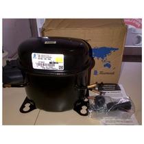 Compresor Tecumseh Ae1380as 1/4hp Gas R12 Original En Caja