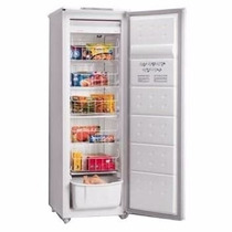 Freezer Vertical Eslabon De Lujo 142 Lts Evu22d1 Blanco Slim