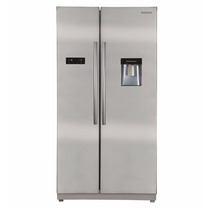 Heladera Peabody No Frost Side By Side Inox 633lts Lhconfort