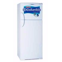 Heladera Columbia Htf 2434 Con Freezer 414 Litros Blanca