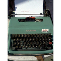 Maquina De Escribir Olivetti Impecable!!