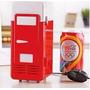 Mini Heladera Usb Calentador Y Enfriador Refrigerador P Auto